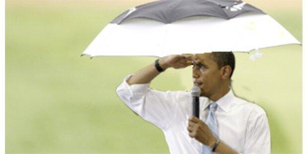 Fundamentalisten beten für Regen gegen Obama-Rede
