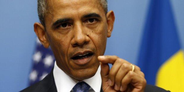 Obama: Erst Diplomatie, dann Krieg