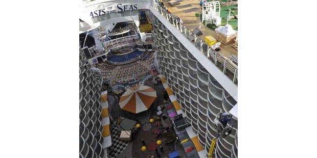 Das größte Kreuzfahrtschiff der Welt