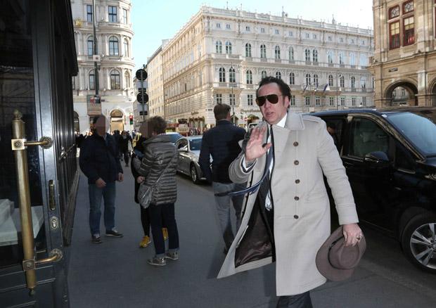 Nicolas Cage in Wien