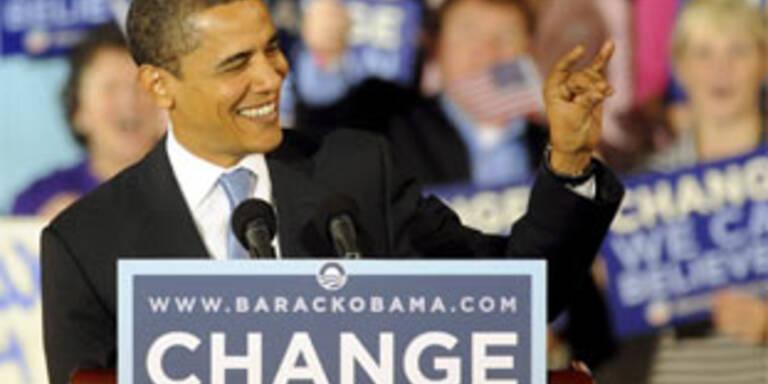Obama baut Vorsprung vor Clinton aus