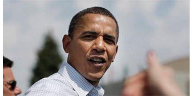 Obama-Flugzeug musste notlanden
