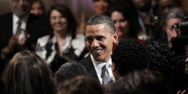 Obamas wagten ein Tänzchen zu Motown-Musik