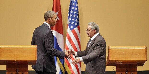 Kuba hofft auf weitere Annäherung mit USA
