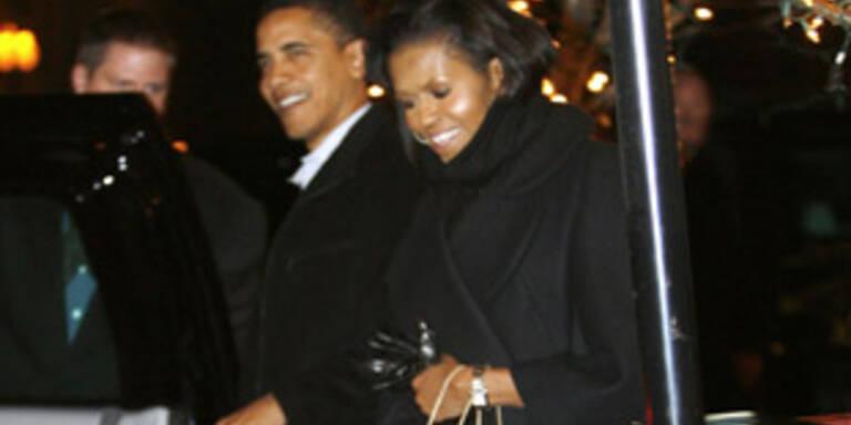 So romantisch feierte Obama Valentinstag