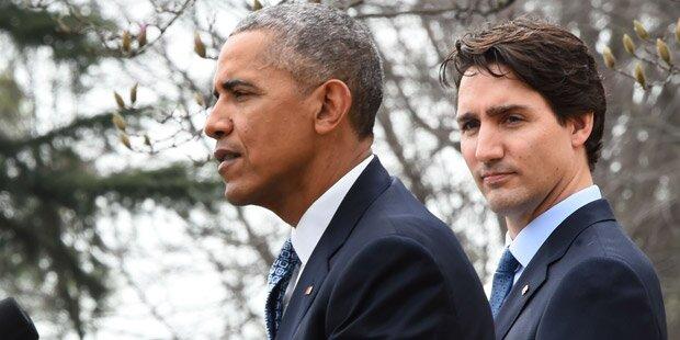 Obama empfing kanadischen Premier