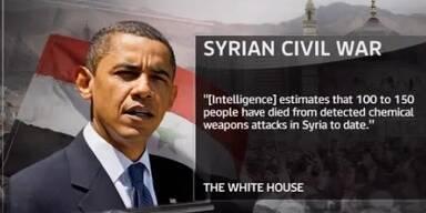 Obama: USA greifen in Syrien ein