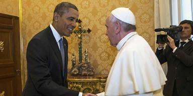 Barack Obama Papst Franziskus