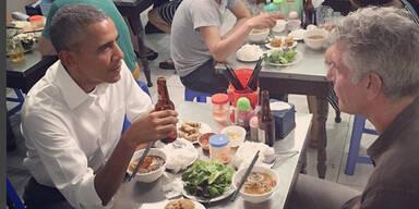 Obama genießt Sechs-Dollar-Dinner in Vietnam