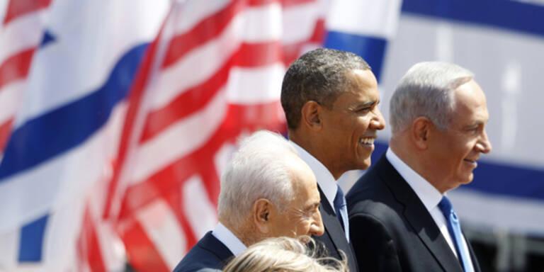 Barack Obama erstmals in Israel