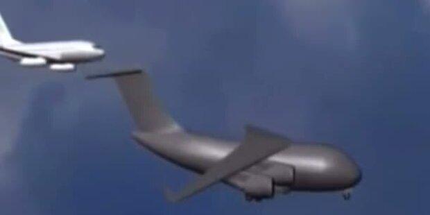 Frau Obama entgeht Flugzeugkollision