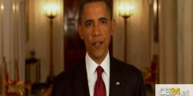 Präsident Obama verkündet bin Ladens Tod
