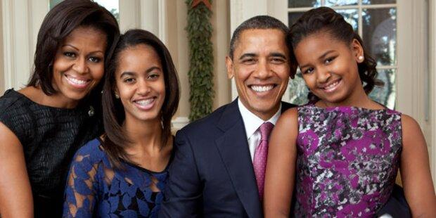 Obama will seine Kinder nicht verwöhnen