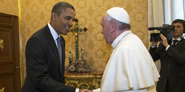 Obama trifft Papst Franziskus