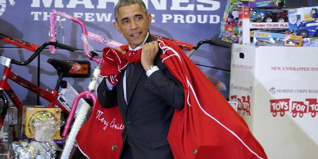 Obama bekommt sein Billionen-Budget
