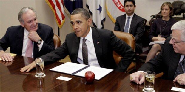 Obama und Republikaner streiten heftig