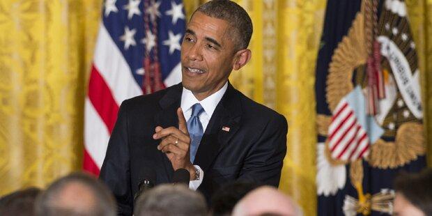 Obama wirft Störenfried raus