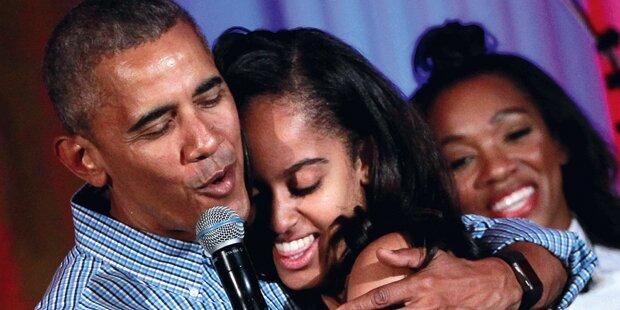 So wild feierte Obama-Tochter Malia
