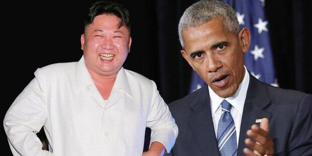 Nach Atomtest: Obama droht irrem Kim