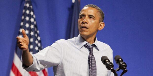 Obama droht Syrien mit Militärschlag