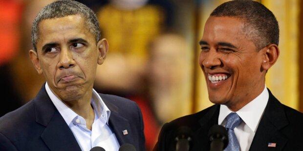 Färbt sich Barack Obama die Haare?