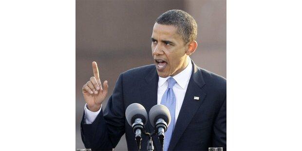 Obama liegt in Umfrage vor McCain