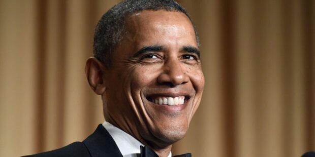 US-Präsident Obama scherzt über Putin