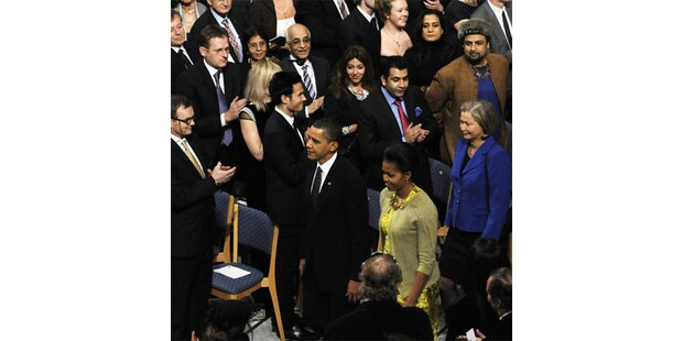 Obama rechtfertigt Krieg