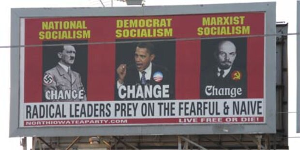 Vergleich von Obama mit Hitler regt auf