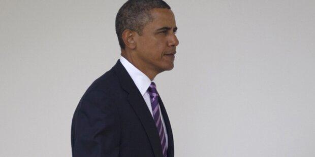 Obama weiter im Umfragetief
