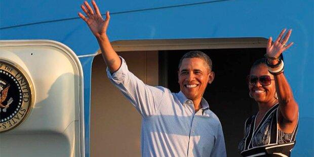 Wahlkampfauftakt: Obama beendet Urlaub