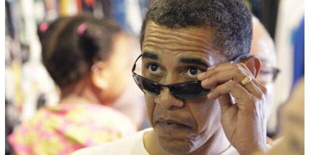 Obama-Puppe wurde mit Strick erhängt