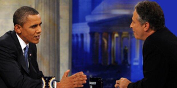 Obama bei Kultkomiker auf Stimmenfang