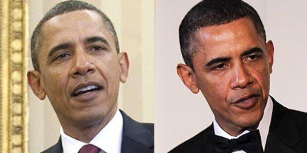 Rätselraten: Färbt Obama seine Haare?