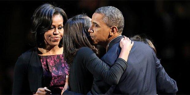 US-Promis jubeln Obama zu