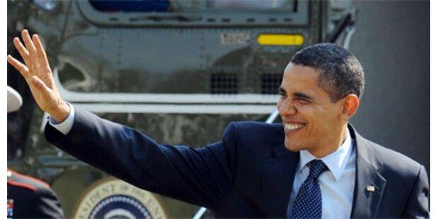 US-Präsident Obama besucht Europa