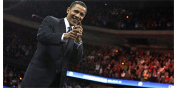 Dreifach-Triumph für Obama - McCain im Visier