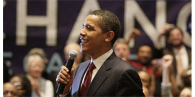 Obama mit doppelt so viel Spenden wie Clinton