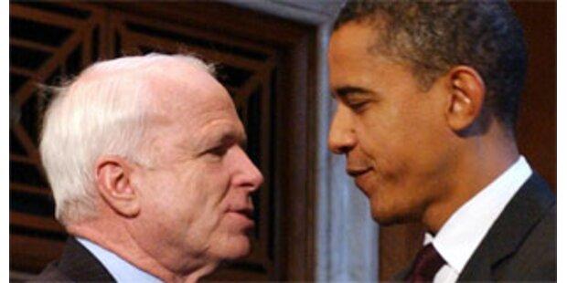Im Juni um Hälfte mehr Spenden für Obama als McCain