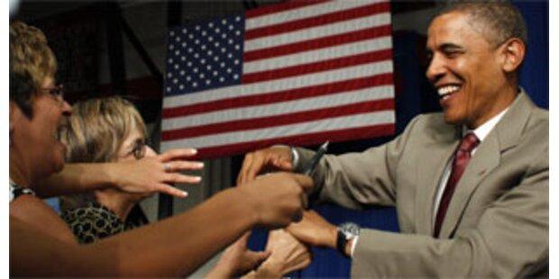 Obama zeigte sich bei Spendenveranstaltung siegessicher