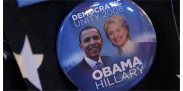 Obama setzt Hillary Clinton gegen Palin ein