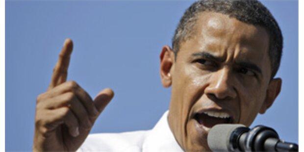 Obama 14 Prozentpunkte vor McCain