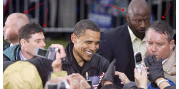 Secret Service bewacht Obama rund um die Uhr