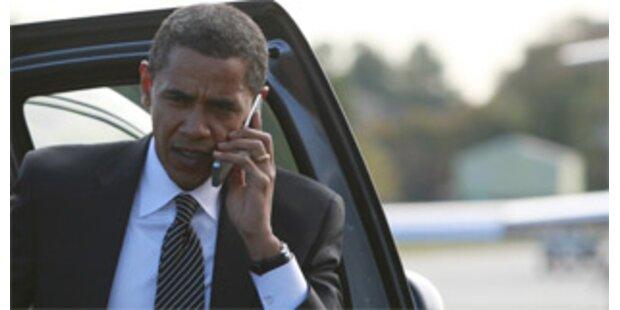 Obama telefoniert mit Regierungschefs in aller Welt