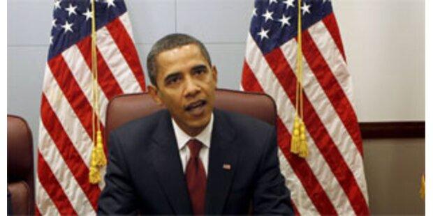 Obama äußert sich erst nach Amtsantritt zu Nahost