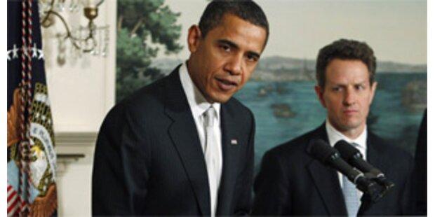 Obama fordert neues Finanzmarkt-Gesetz