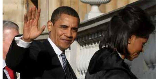 Obama auf Besuch in London