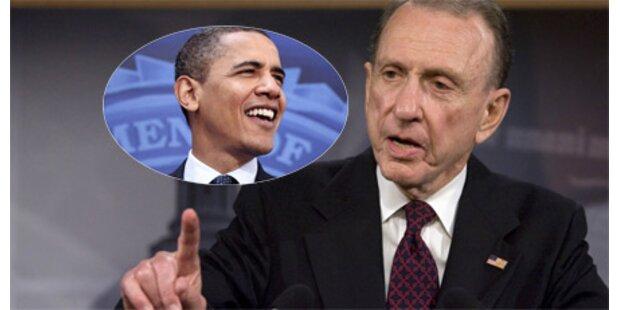 Republikaner wechselt zu Obama