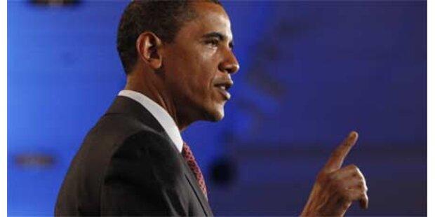 Bewaffneter bei Obama-Rede festgenommen