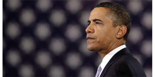 Obamas Beliebtheit auf Tiefststand